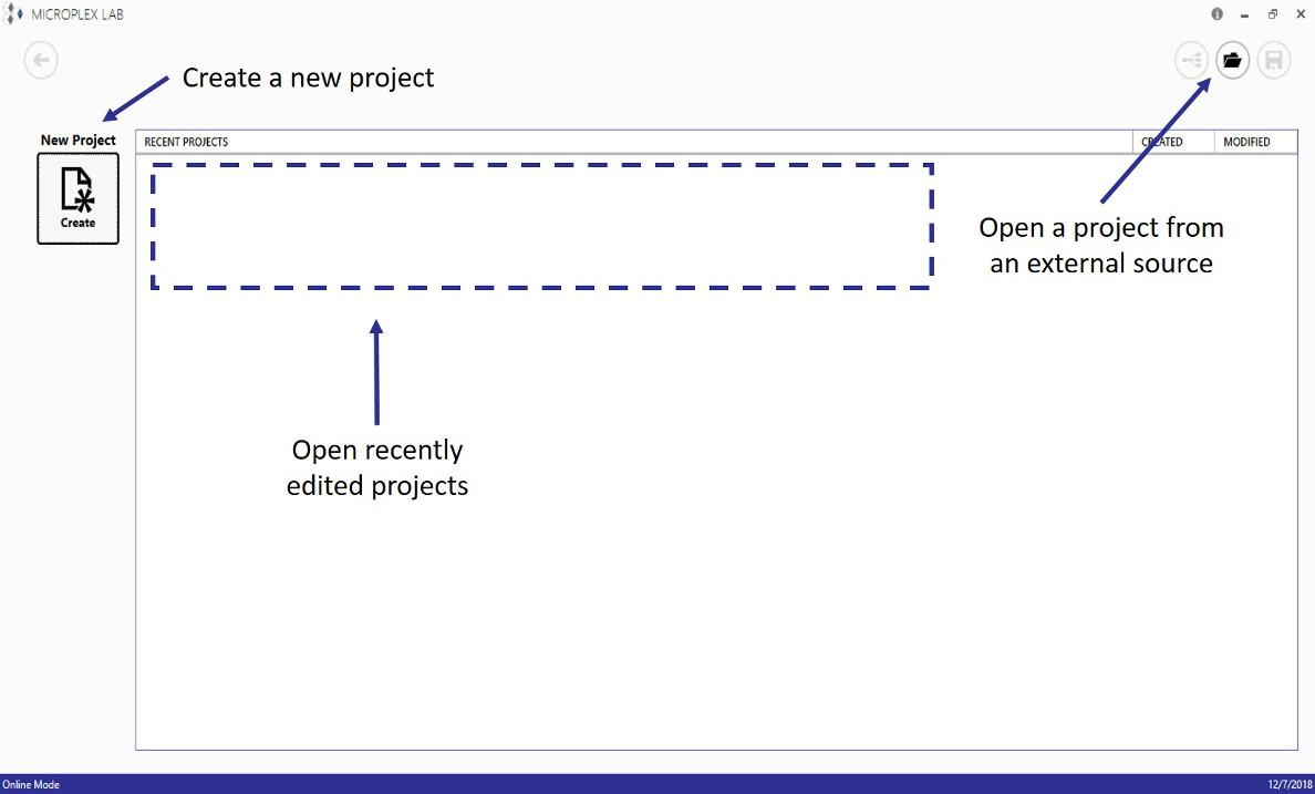 Project-Start-Screen