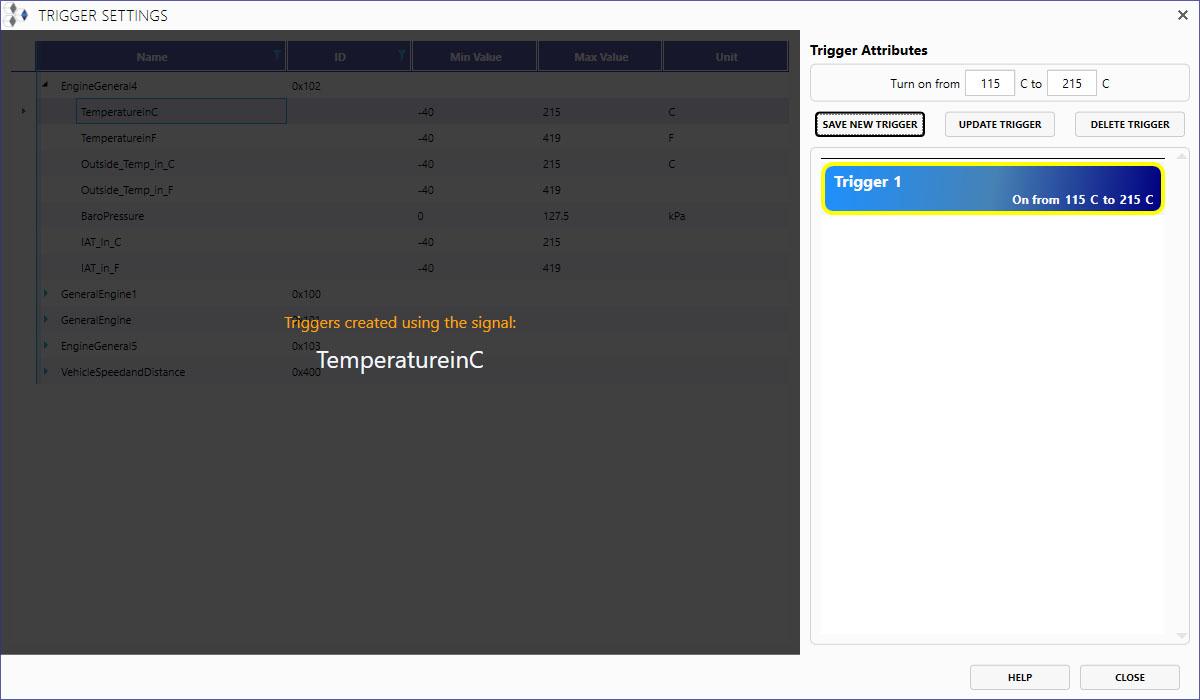 Temperature Trigger